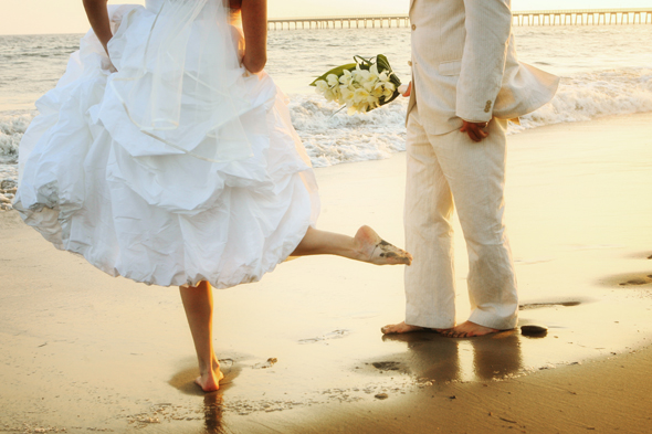 weddings in the sand