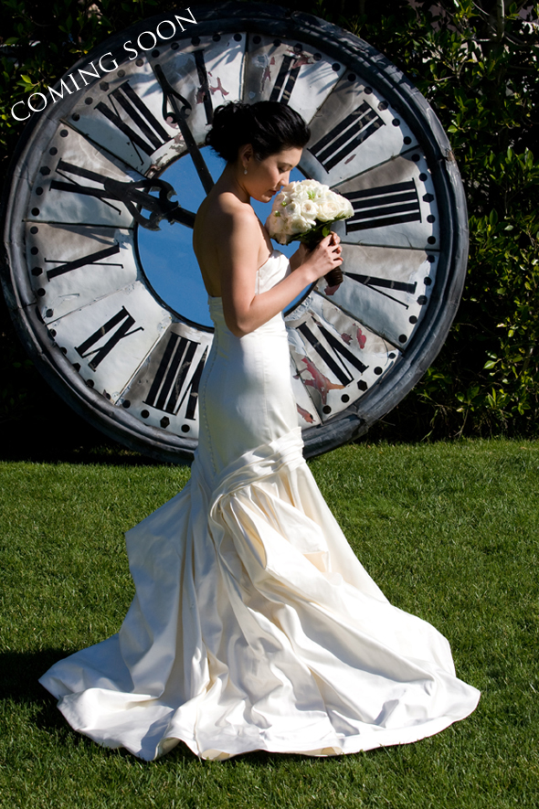 weddings with clocks