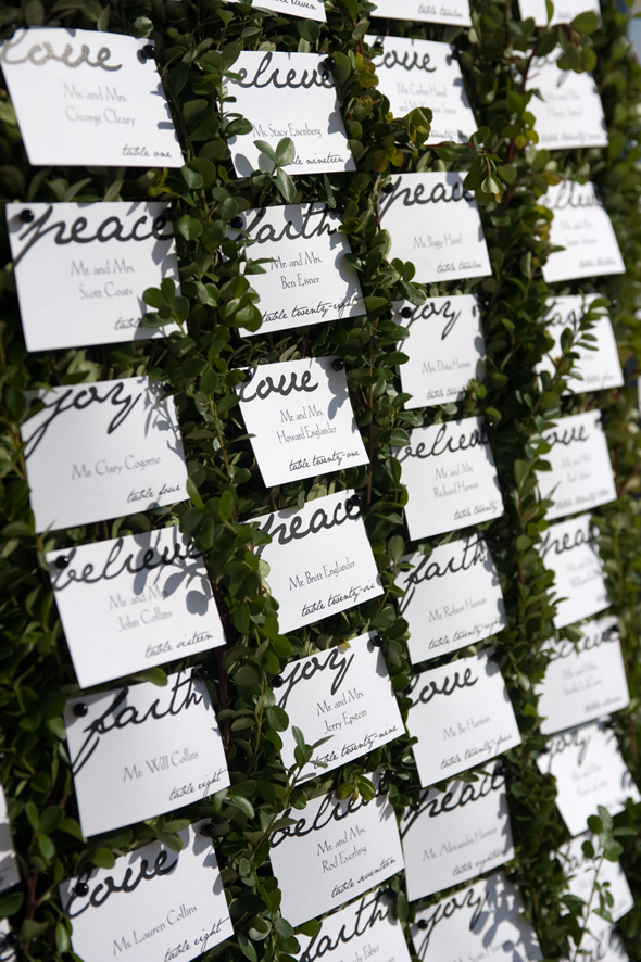 ivy place cards