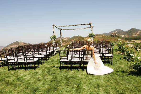 grass area weddings