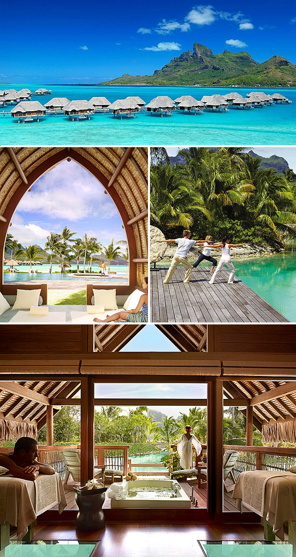 honeymoons in bora bora