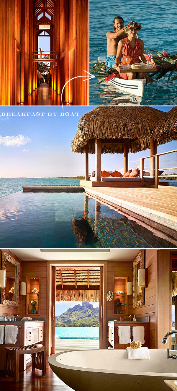 over water suites bora bora