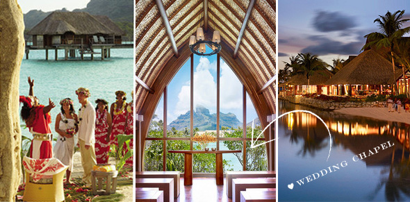 bora bora weddings1 Four Seasons Bora Bora