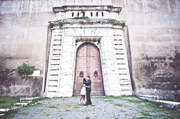eloping in Rome