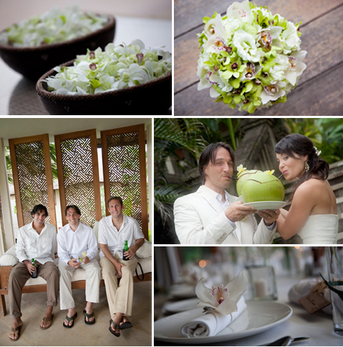 destination wedding flowers bali
