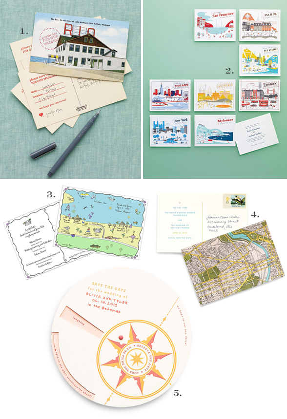 This save the date postcard offers an engaging way to invite your guests