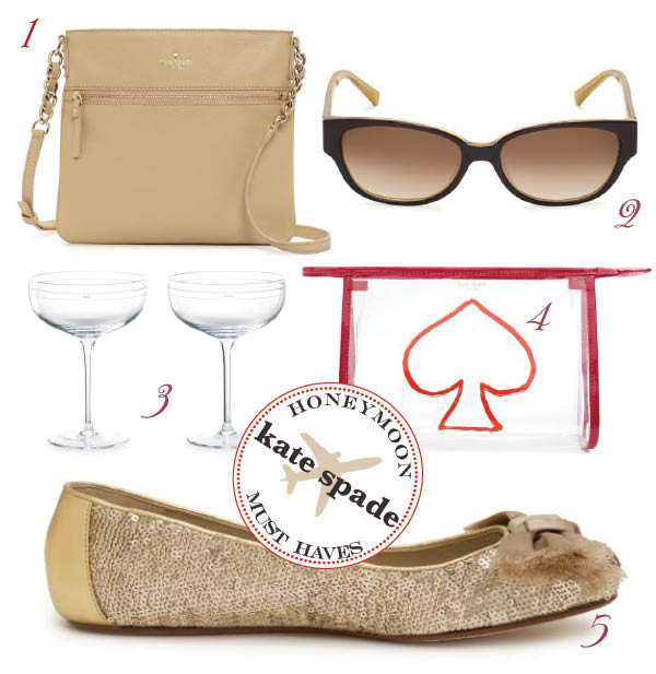 Kate Space Accessories for Honeymoons