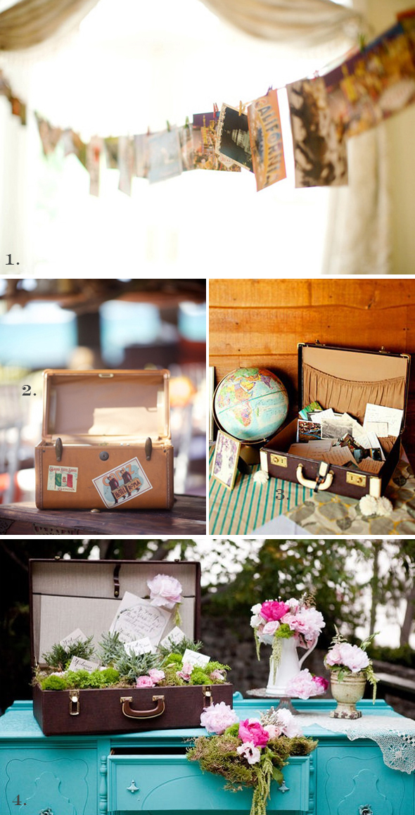 luggage guest books