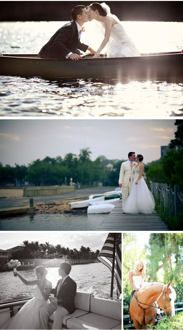 getaway ideas for weddings