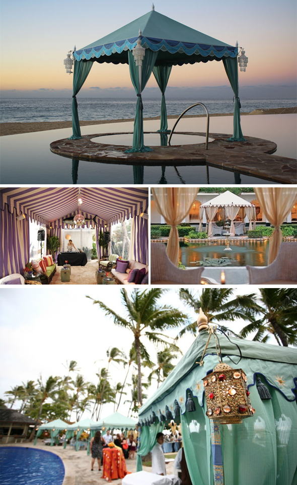 Raj wedding tents
