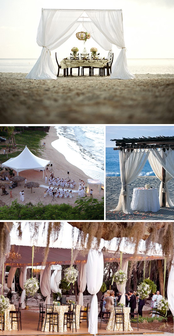 beach wedding tents Destination Wedding Tents Photos Top Ozzy Garcia Blog