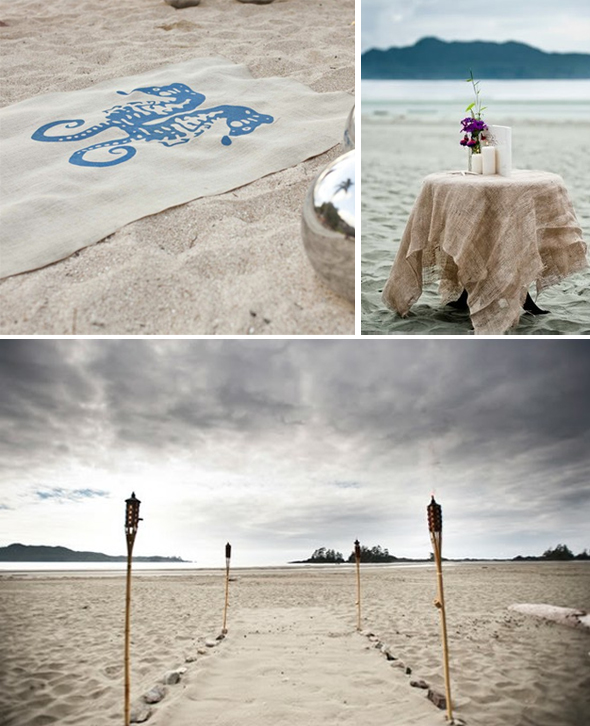 burlap aisle runner Burlap Wedding Ideas