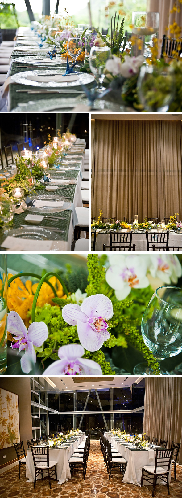costa rica wedding decor