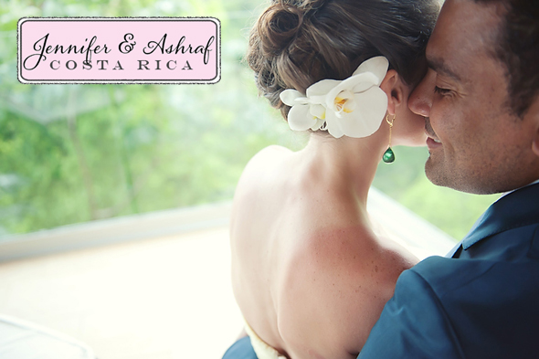 destination weddings costa rica1 Destination Wedding in Costa Rica   Jennifer & Ashraf