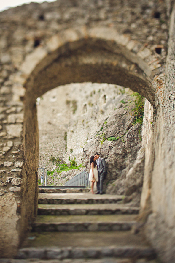 Elopement in Salerno, Italy