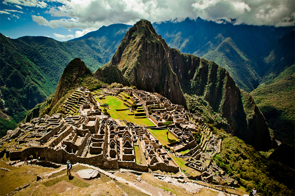 honeymooning at machu picchu