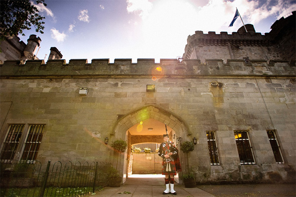 castle wedding venues in scotland