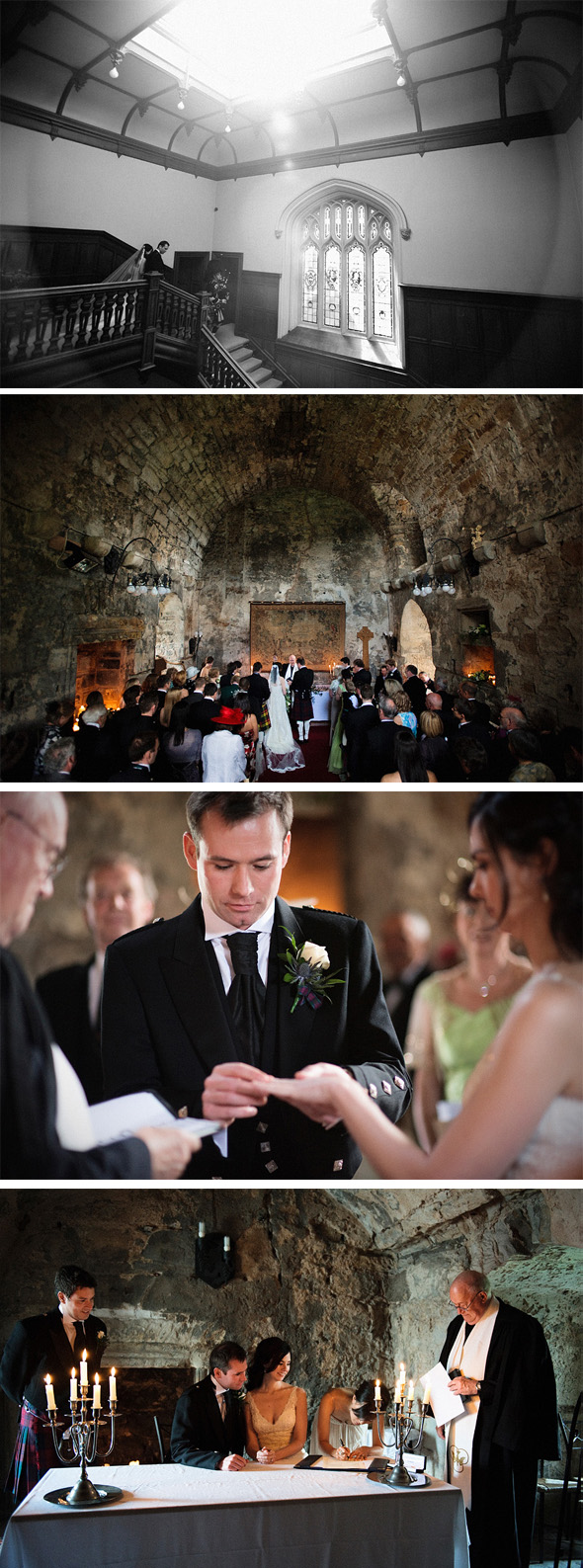 castle wedding in scotland