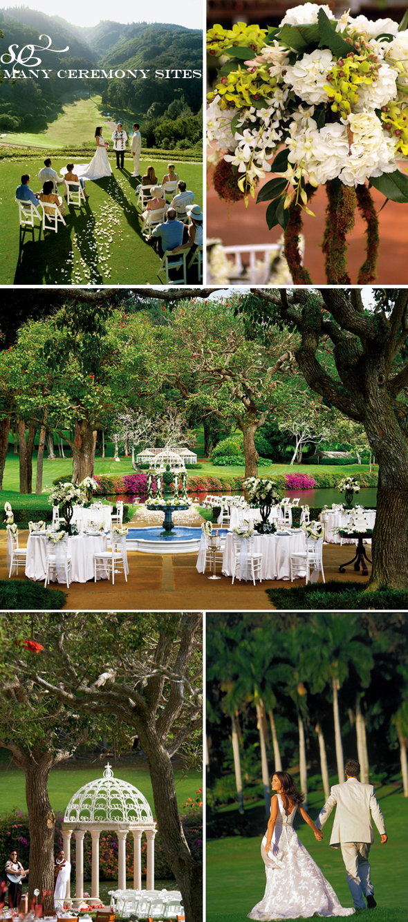 Four Seasons Lanai lodge weddings
