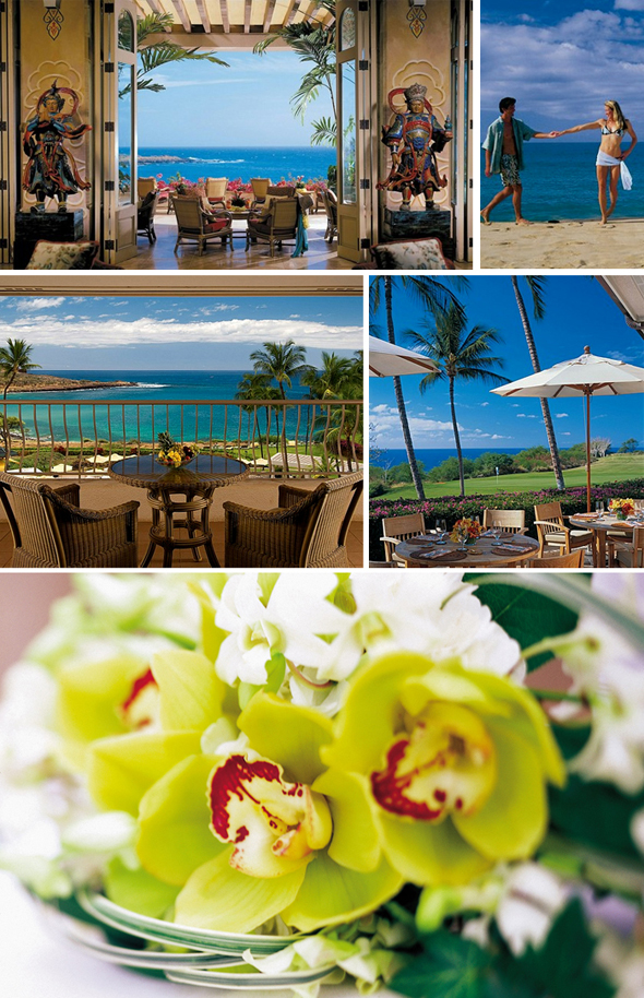 Four Seasons Lanai beach Four Seasons Lanai, Manele Bay Weddings