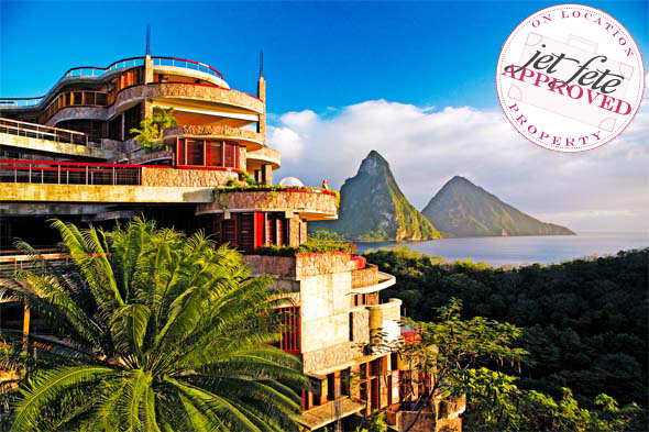 Jade Mountain resort Jade Mountain Honeymoons, St. Lucia