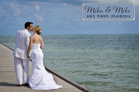 florida beach wedding Destination Wedding in Key West, FL