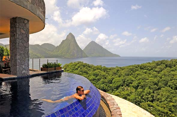 Jade Mountain Honeymoons St Lucia
