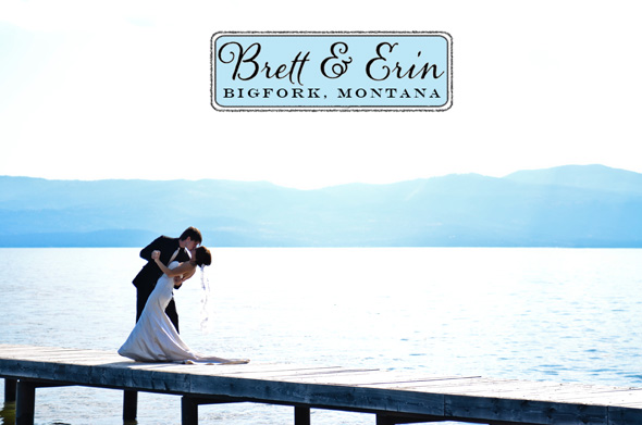 Today 39s destination wedding comes from the small lakeside town of Bigfork