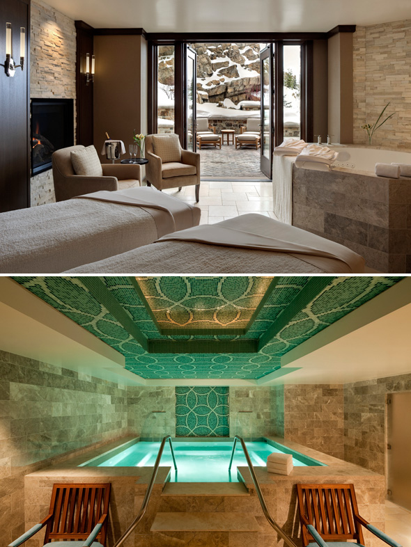 st regis deer valley spa
