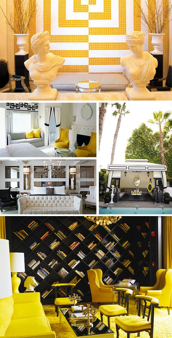 With a modern base of black and white the Viceroy 39s decor defines the pop