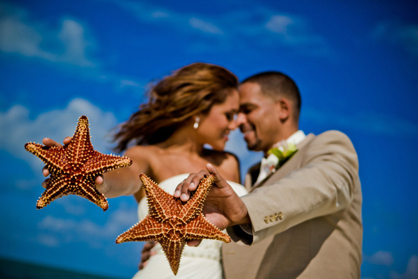 starfish point wedding Grand Cayman Wedding Shoot