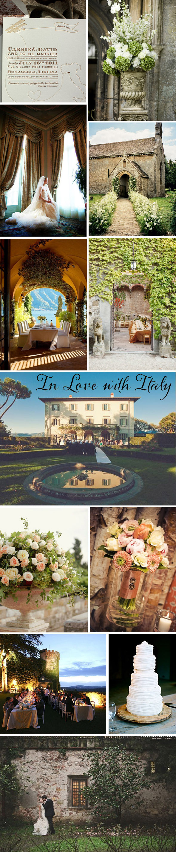 Italy destination wedding1 Italy Destination Weddings