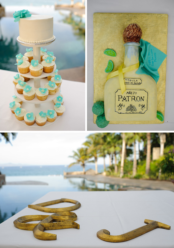 patron grooms cake Cabo San Lucas Destination Wedding