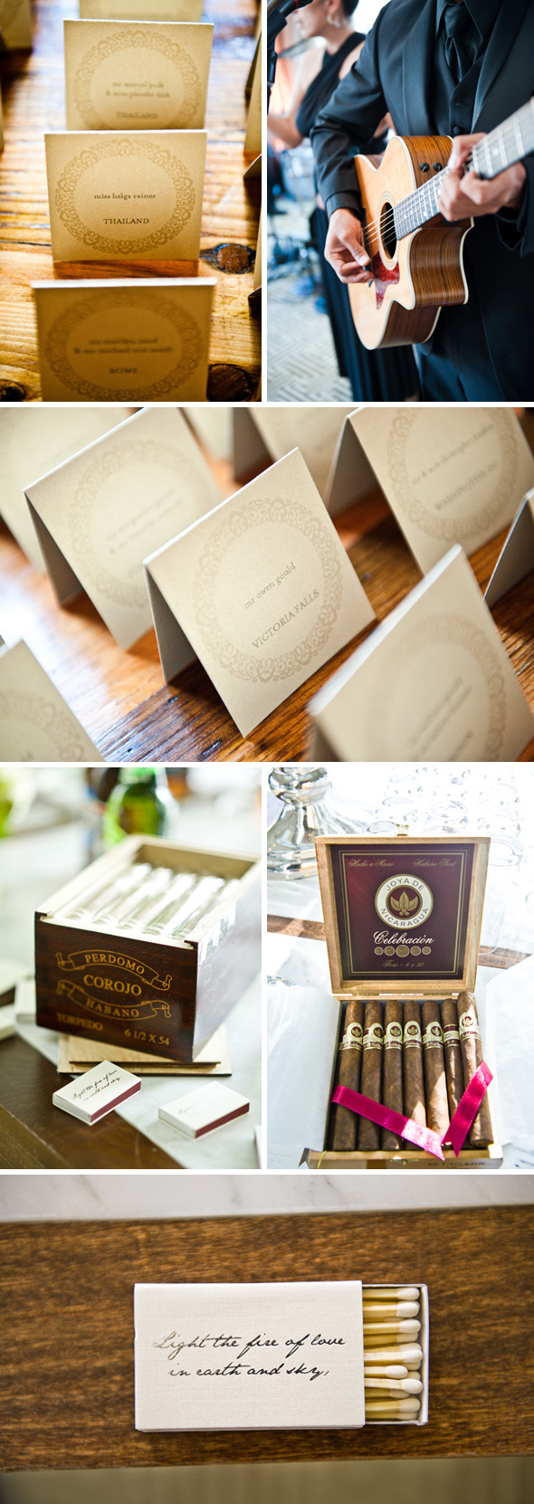 wedding cigar rollers Hay Adams, Washington DC Wedding