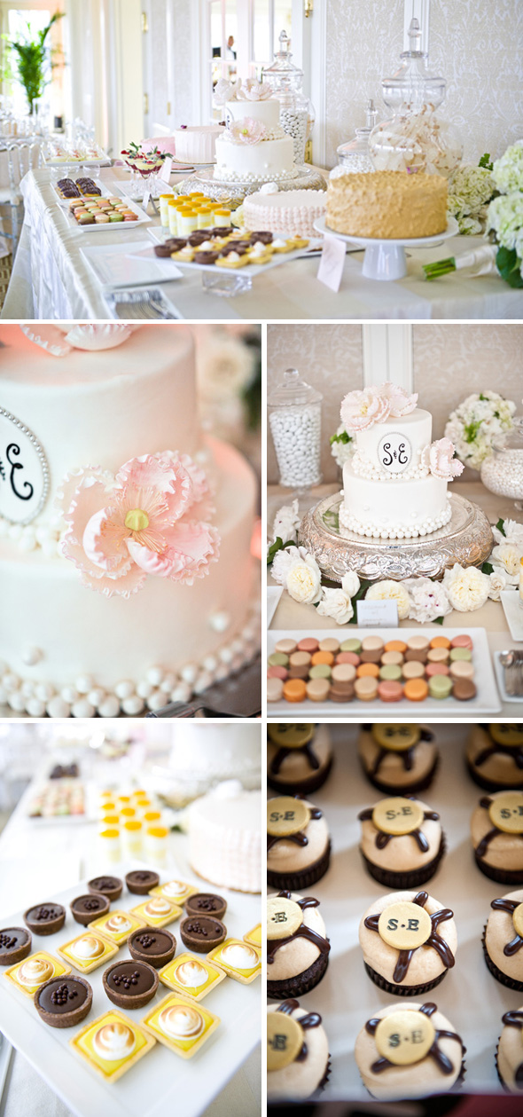 wedding dessert bars Hay Adams, Washington DC Wedding