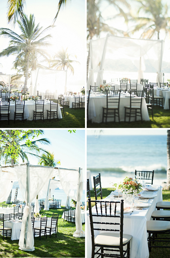 outdoor wedding table decor