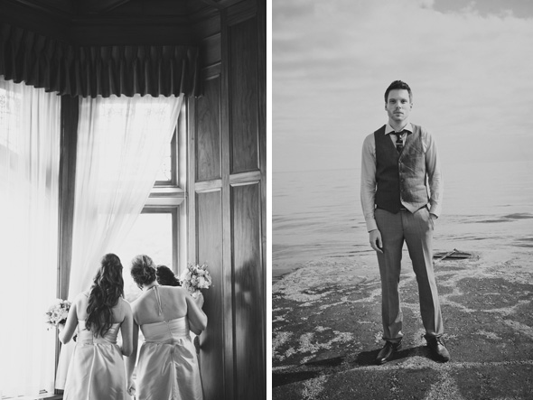 B&W wedding photos