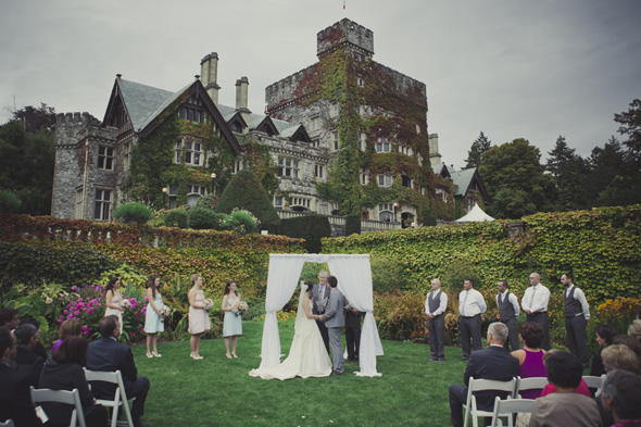 wedding at castle