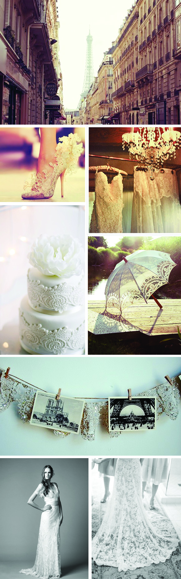 french lace French Lace Inspired Weddings