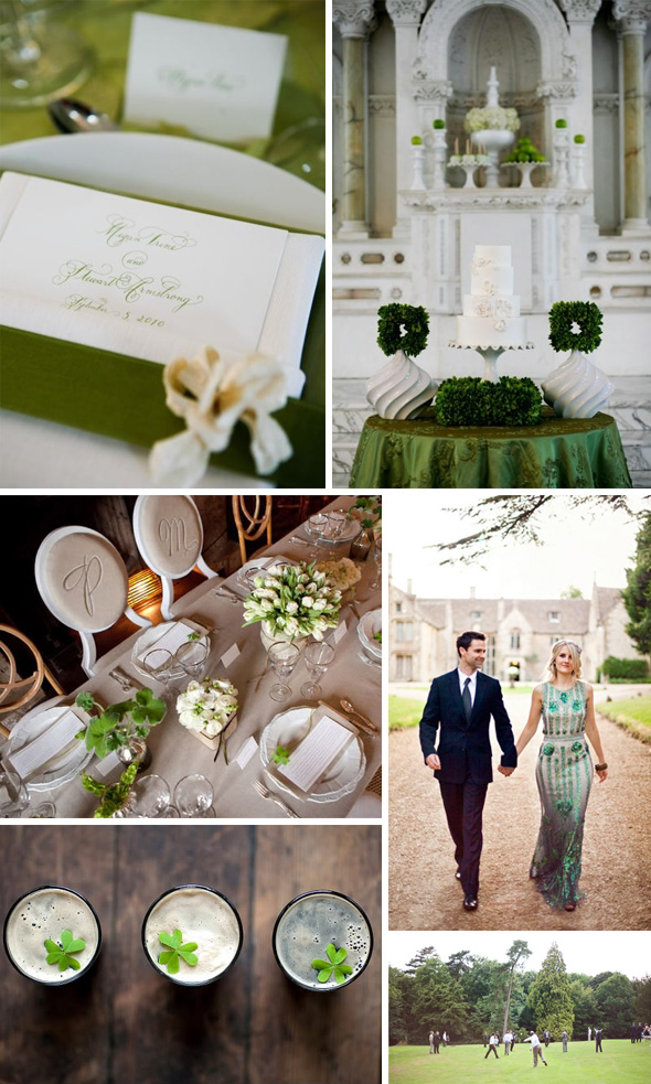 ireland destination wedding Irish Inspired Wedding Details