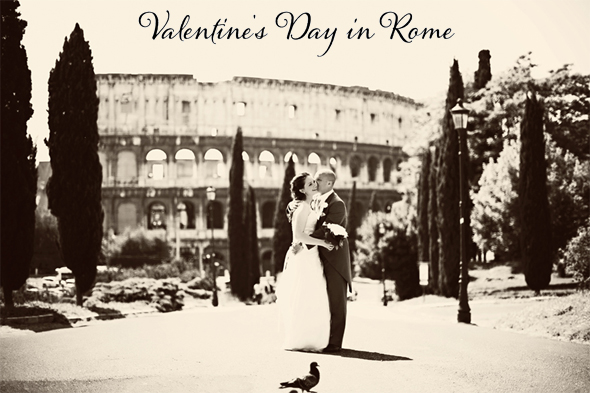 valentine's day weddings in rome, italy