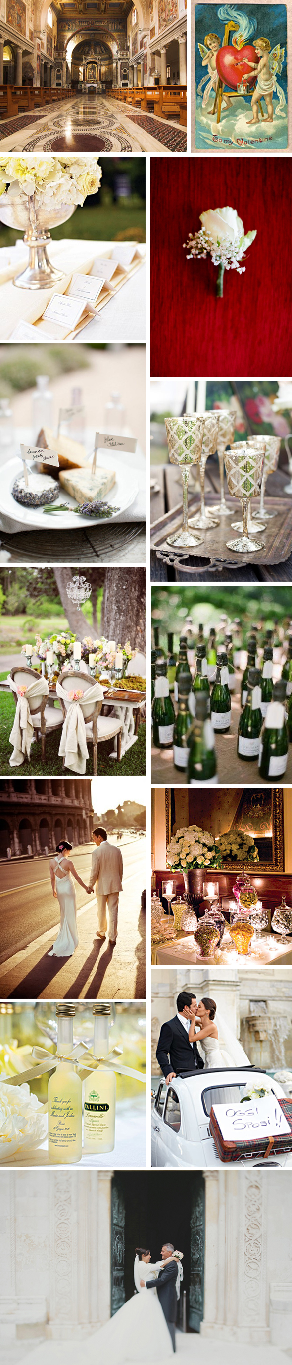 weddings in Italy valentine's day