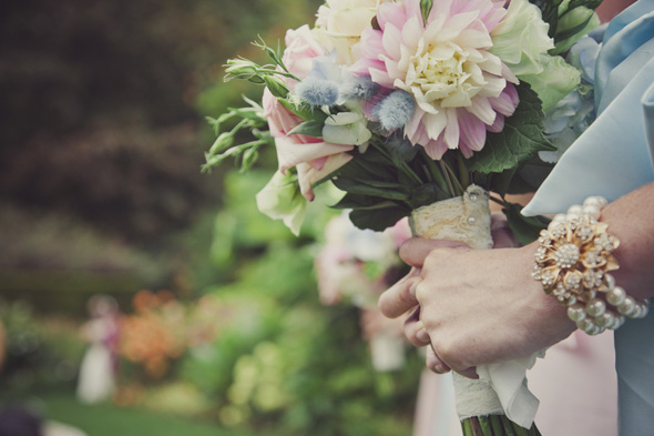 pink and blue bouquet ideas