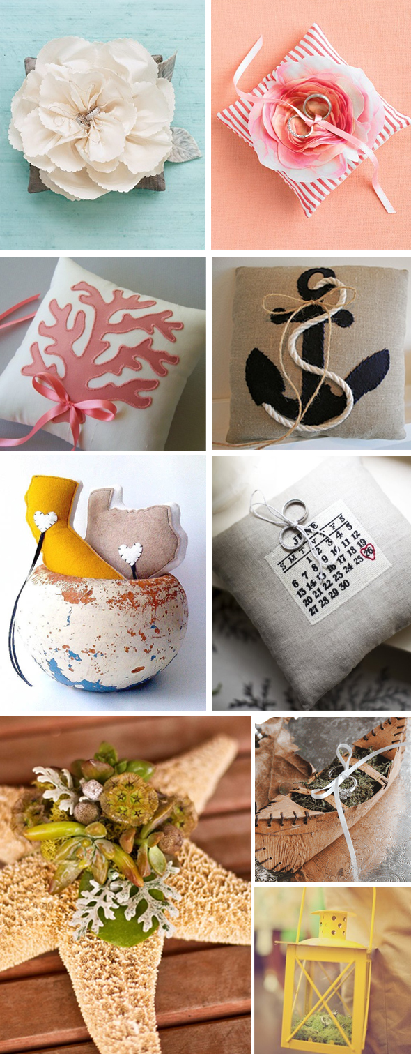 ring pillow alternatives