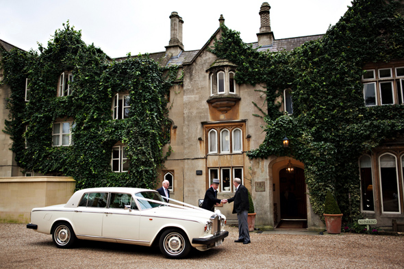 11 vintage wedding car Celebrity Destination Wedding in Bath, England