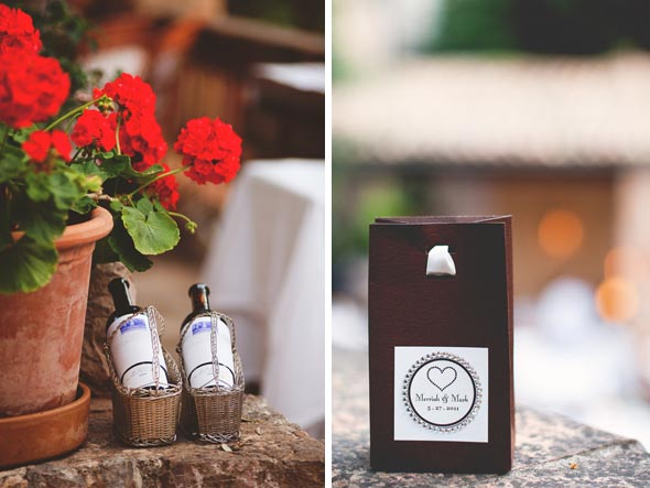 17 destination wedding favors1 Destination Wedding in Majorca, Spain