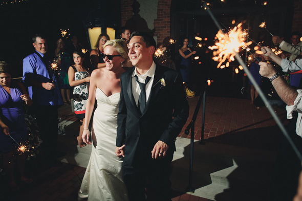 21 wedding sparklers Destination Wedding at the Biltmore Estate, Asheville, NC