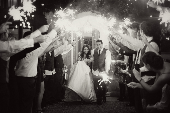 26 sparklers at weddings Celebrity Destination Wedding in Bath, England