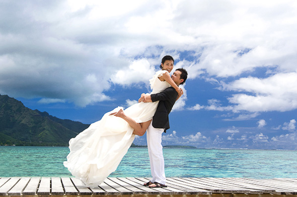 bora bora hilton honeymoons