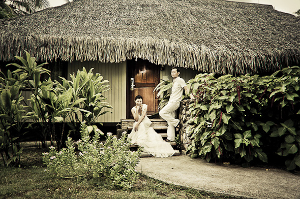 bora bora resort weddings